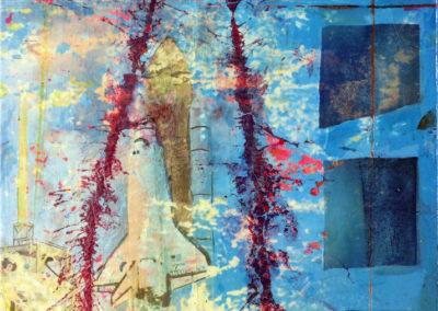 Aufbruch-4.-Phasen-meiner-Zuendung-Die-Gedanken-sind-frei-50x70cm-2017-Christian-Nienhaus