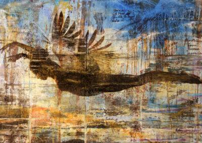 Glueck Auf-Die Gedanken sind frei-190x120cm-2017-Christian-Nienhaus