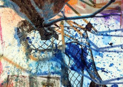 Postkartenkrieg-ohne-Vogelgezwitscher-40x50cm-2017-Christian-Nienhaus