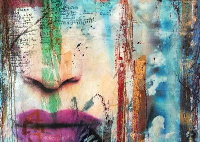Face to Face_liebe Deine Gedanken--Vermessung-der-Zeit---140-x-160-cm-2019